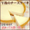 【訳あってお買い得】午後のチーズケーキ5号(ベークドチーズケーキ)