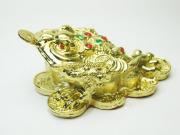 5寸古銭三本足蛙