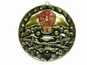 銅製獅子頭牌