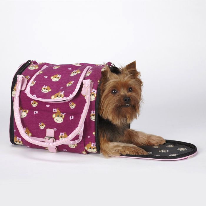 EAST SIDE COLLECTION MONKEY BUSINESS PET CARRIERS/Ty