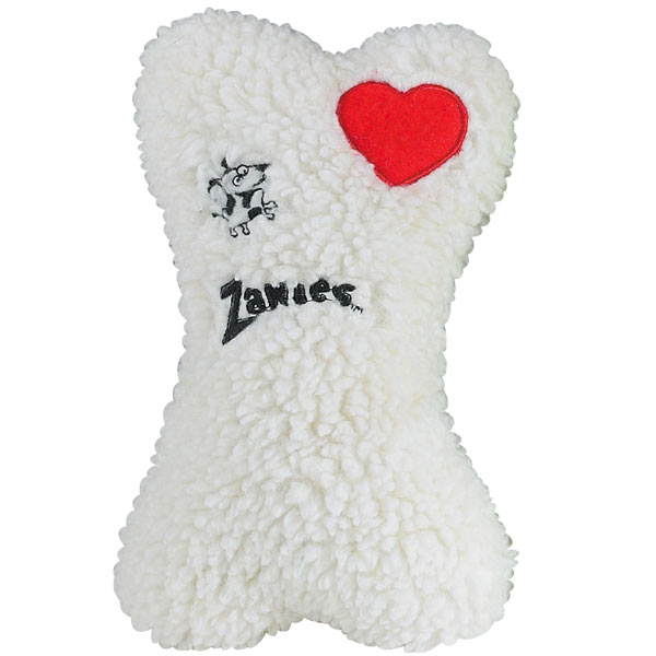 ZANIES Embroidered Berber Bone / White