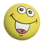 ZANIES LATEX DOG TOY/Yellow Ball