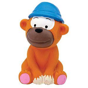 ZANIES LATEX DOG TOY/Monkey
