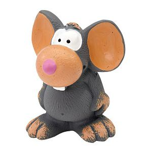 ZANIES LATEX DOG TOY/Mouse