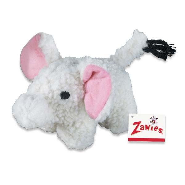 ZANIES Fleecy Friend Toy Elephant
