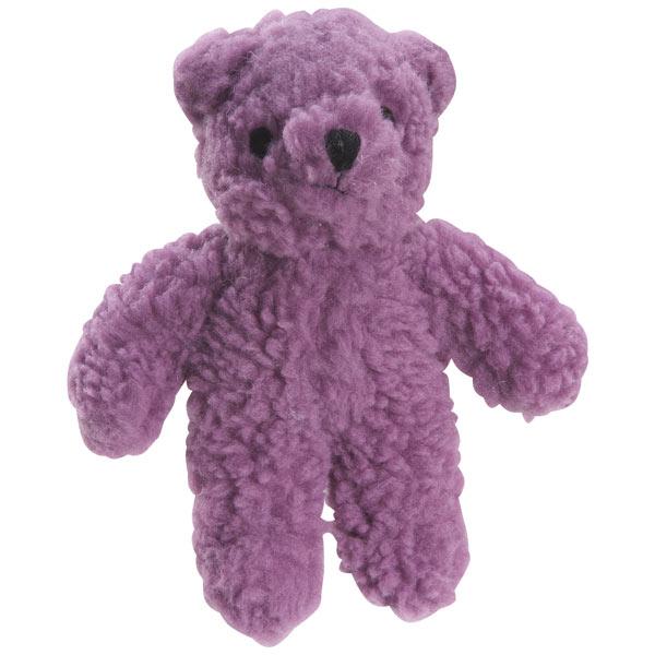 ZANIES BERBER BEARS DOG TOYS / Purple