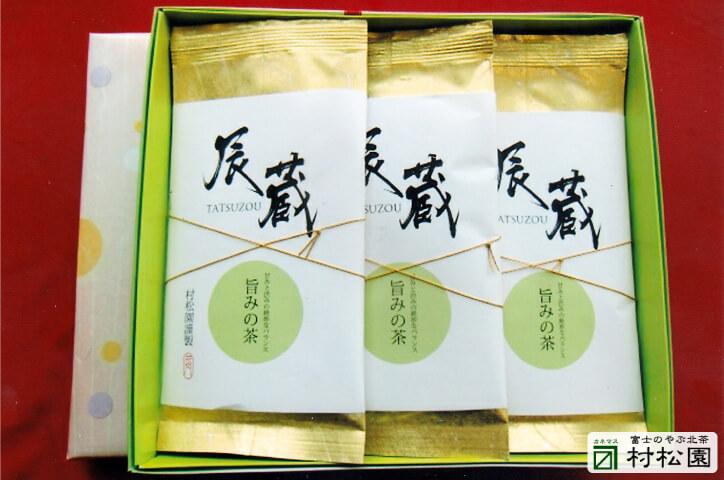 辰蔵のお茶 100g入3本セット