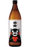 2091 米焼酎【高橋酒造/熊本県】白岳くまモンボトル 900ml
