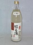 2581 【小林酒造/福岡】萬代 本醸造にごり酒    900ml