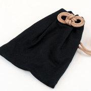 【小粋 黒刺子】巾着
