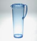 【アウトレット】【わけあり】【日本製】ガラスのような質感 耐熱グラスピッチャー1.2L クリアーブルー