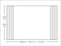 【送料無料】東プレ お掃除カンタン!オーダーイージーウェーブ 600〜640×1308・1341・1373mm
