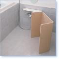 風呂いすもOK!折りたたみラバースノコ【600x850mm】コンパクト保管で便利!