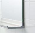 【日本製】今付いている板鏡が棚付鏡に変身!交換用鏡の棚 NS−457