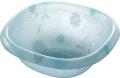 【送料無料】オシャレなアクリル製の洗面器 フィルロシュシュ ウォッシュボールS ペールブルー