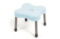 【送料無料】クローバー型風呂椅子 レヴォルクシャワーチェアSS ブルーグリーン