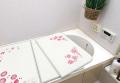 【送料無料】アルミ組み合わせ風呂ふた シーズンズフラワー U11 68×108cm 3枚割