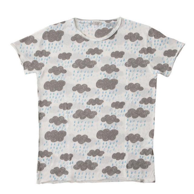 ウェザーモチーフコットンポリTシャツ Tシャツ カットソー メンズ 綿 T60416E7 fiver(ファイバー)