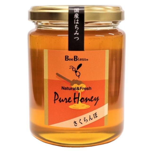 【国産はちみつ】さくらんぼ蜂蜜 300g