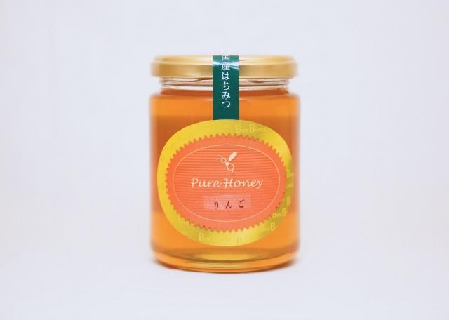 【国産はちみつ】りんご蜂蜜 300g