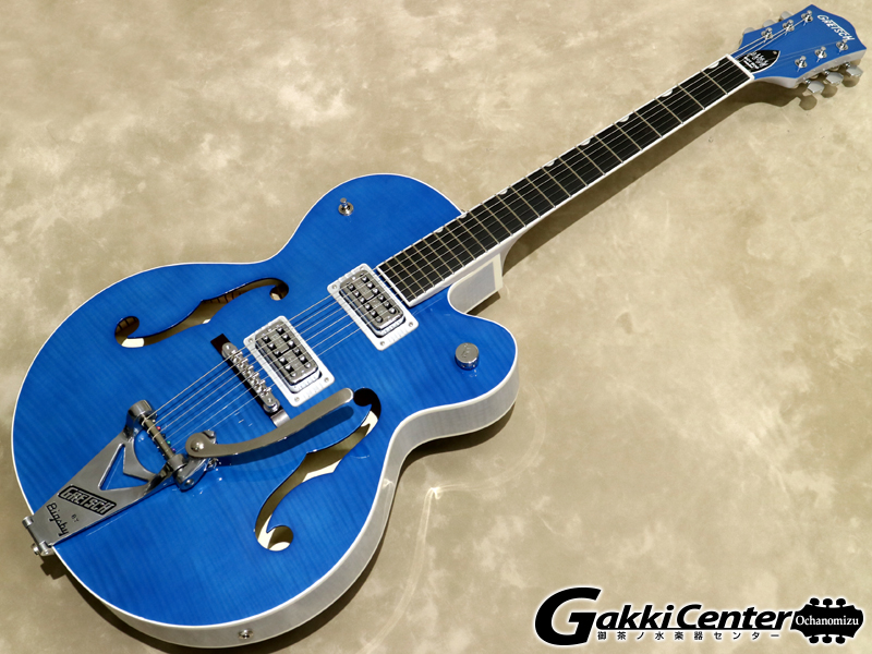 【SALE】Gretsch G6120SH Brian Setzer Hot Rod / Harbor Blue 2-Tone【シリアルNo:JT16031239/3.2kg】【店頭在庫品】