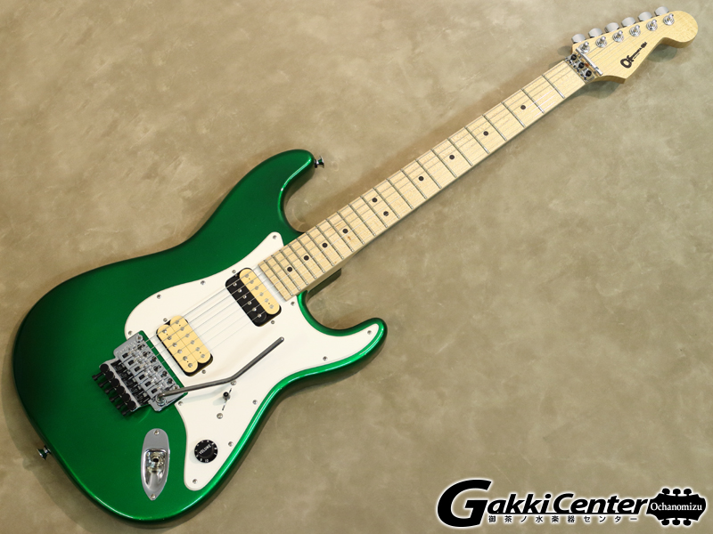 Charvel  U.S.A. CUSTOM SHOP SO-CAL 2H Candy Green 【シリアルNo:C9626/3.5kg】【店頭在庫品】
