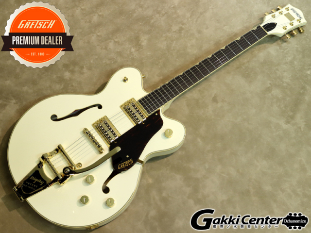 Gretsch G6609TG Players Edition Broadkaster Center Block Double-Cut Vintage White【シリアルNo:JT17030938/3.7kg】【店頭在庫品】