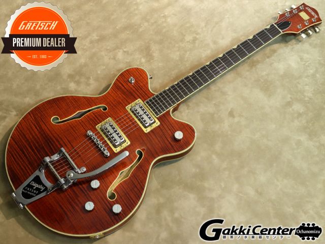 Gretsch G6609TFM Players Edition Broadkaster Center Block Double-Cut Bourbon Stain【シリアルNo:JT17030924/3.5kg】【店頭在庫品】