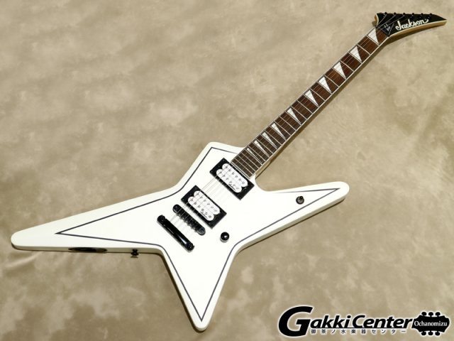 Jackson JS32 Gus G. STAR Stain White with Black Pinstripes【シリアルNo:CWJ1708547/3.2kg】【店頭在庫品】