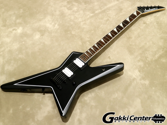 Jackson X Series Gus G. STAR Satin Black【シリアルNo:ICJ1700646/3.3kg】【店頭在庫品】