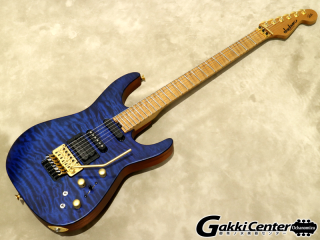 Jackson USA Signature Phil Collen PC1 Satin Transparent Blue【シリアルNo:XN9386/3.6kg】【店頭在庫品】