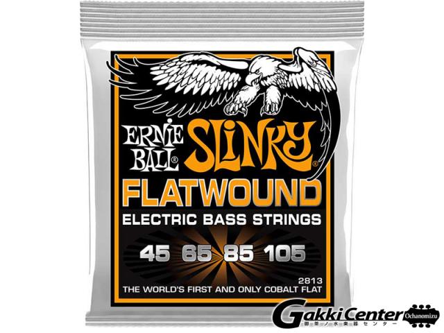 ERNiE BALL HYBRID SLINKY FLATWOUND BASS [#2813]【店頭在庫品】