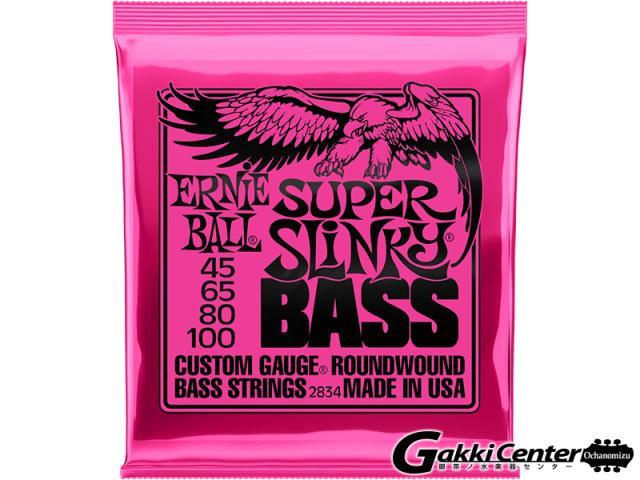 ERNiE BALL SUPER SLINKY  BASS [#2834]【店頭在庫品】