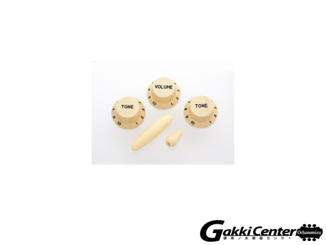 Allparts Cream Knob Set for Stratocaster®【店頭在庫品】