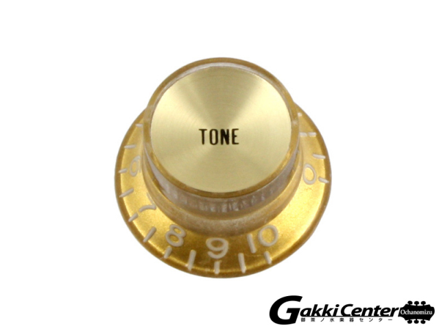 Allparts Gold Tone Reflector Knobs【店頭在庫品】