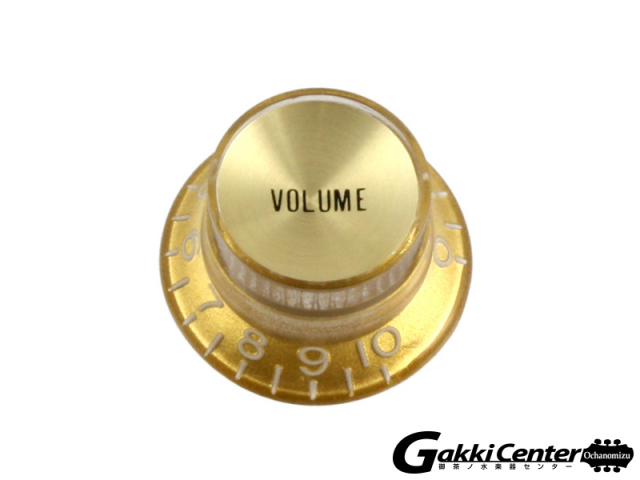 Allparts Gold Volume Reflector Knobs【店頭在庫品】