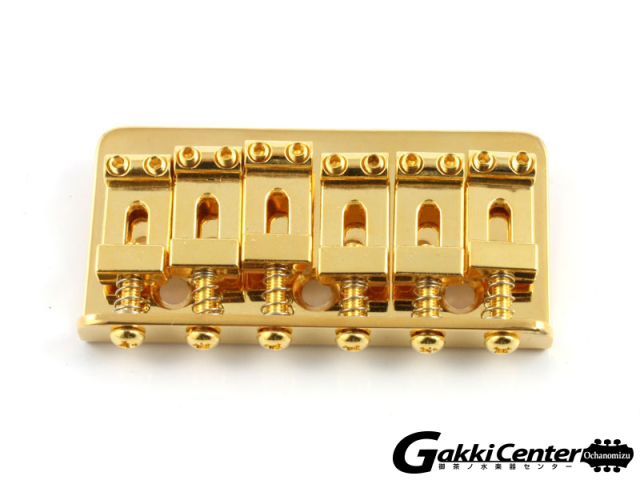Allparts Gold Non-Tremolo Bridge【店頭在庫品】