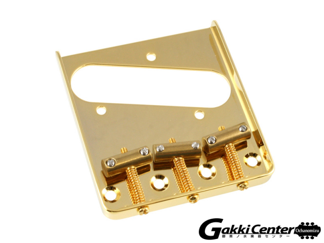 Allparts Gold Vintage Compensated Saddle Bridge for Telecaster®【店頭在庫品】