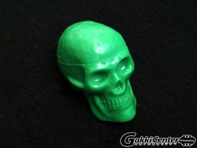 GROVER/Trophy Beadbrain Skull Shaker BB-GREEN