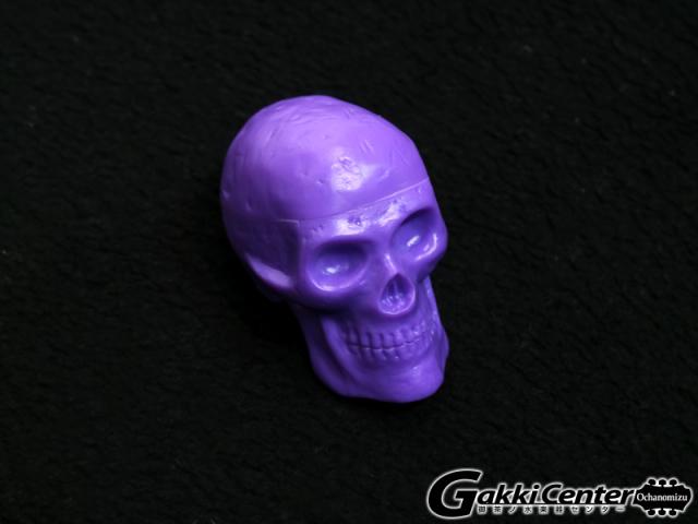 GROVER/Trophy Beadbrain Skull Shaker BB-PURPL