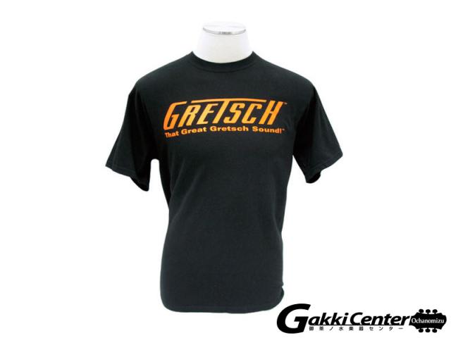 Gretsch T-shirt - That Great Gretsch Sound, Black, L-size