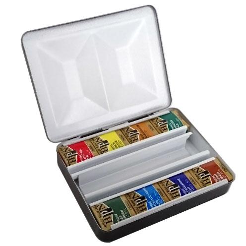 ホルベイン アーチスト パンカラー メタルボックス8色セット