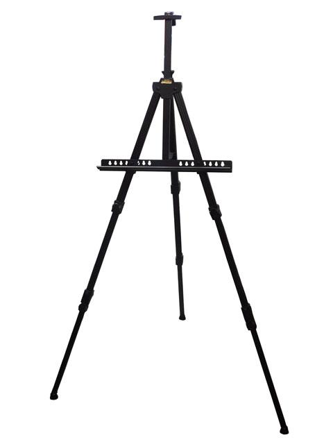 ターレンス メタルイーゼル 3段式 ブラック TME-3BN