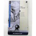 ステッドラー マルス ルモグラフ製図用高級鉛筆 12本セット缶入り(12硬度 各1本)