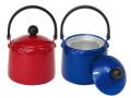 ホルベイン アルミカラー筆洗器 (カラー:青、赤) アルミ製