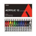 ホルベイン アクリリックカラー スクール12色セット[アクリル絵具](12mlチューブ)