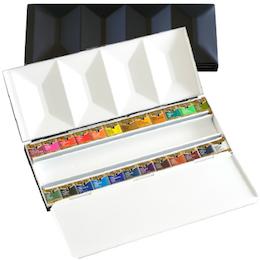 ホルベイン アーチスト パンカラー メタルボックス24色セット