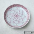 花弁にピンク桜5寸深皿:津上是隆:015109