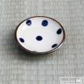 3寸皿(ドット):福田健治:039025