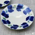 染付7寸皿:かねき陶房 菊地 穣 :054005